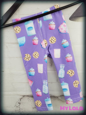 Pastel Baking Baby (Premium) - My Lala Leggings, soft leggings, buttery soft leggings, one size leggings