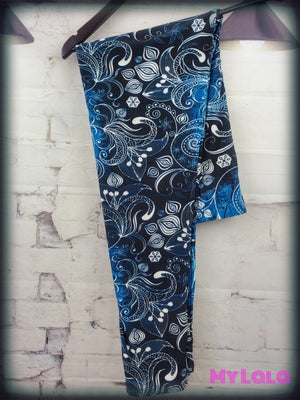 1 R502 Extra Curvy - Black And Blue (24-32)