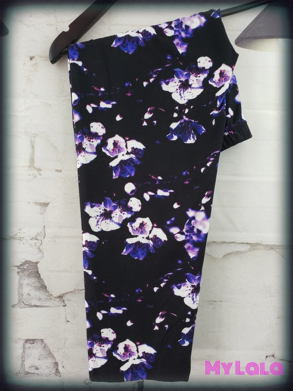 1 R883 Capri - Blacklight Floral Os