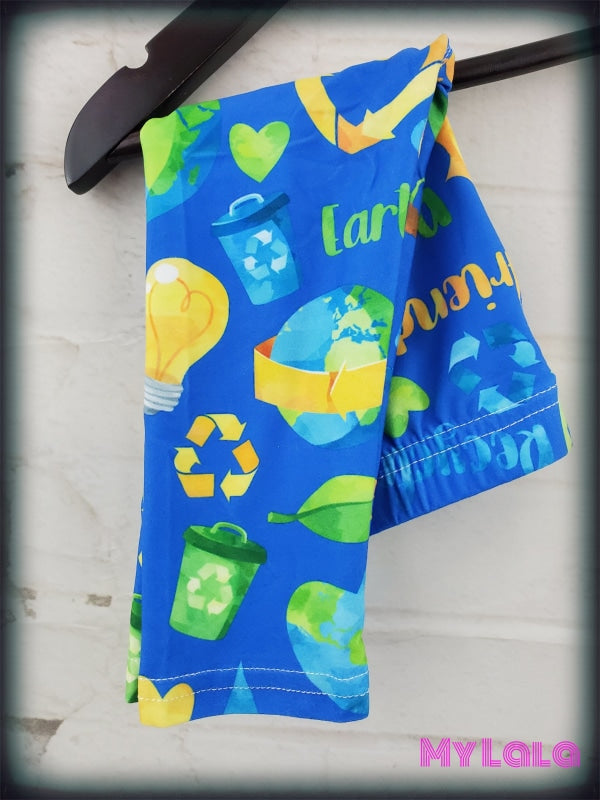 Recycling Baby (Premium) - My Lala Leggings, soft leggings, buttery soft leggings, one size leggings