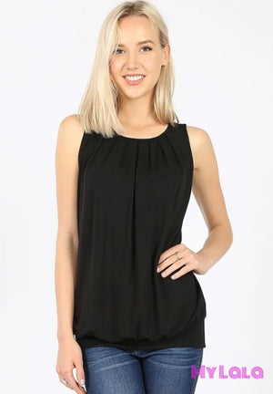 1 Rt 2011 Penny Pleated Top (Black)