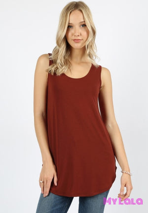 1 Rt 2100 Curvy Rachel Relaxed Tunic (Fired Brick)