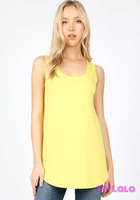 1 Rt 2100 Rachel Relaxed Tunic (Yellow)