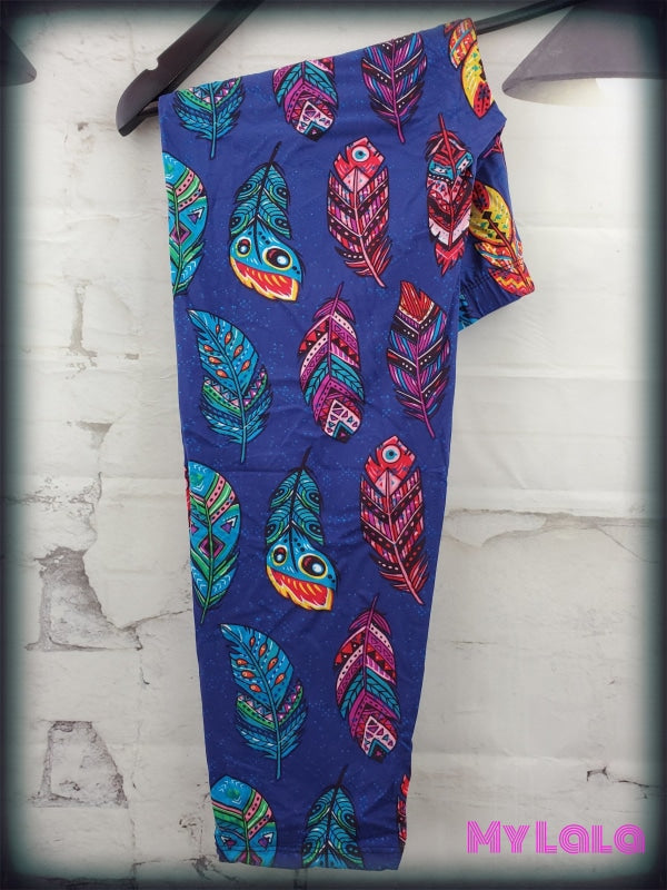 Capri - Curvy Colorful Native - My Lala Leggings, soft leggings, buttery soft leggings, one size leggings
