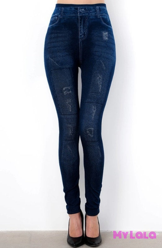 1 S152 One Size Jeggings - Distress (3-12)