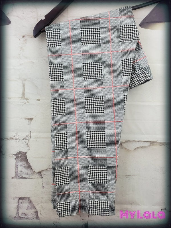 CAPRI - Curvy Check It - My Lala Leggings, soft leggings, buttery soft leggings, one size leggings