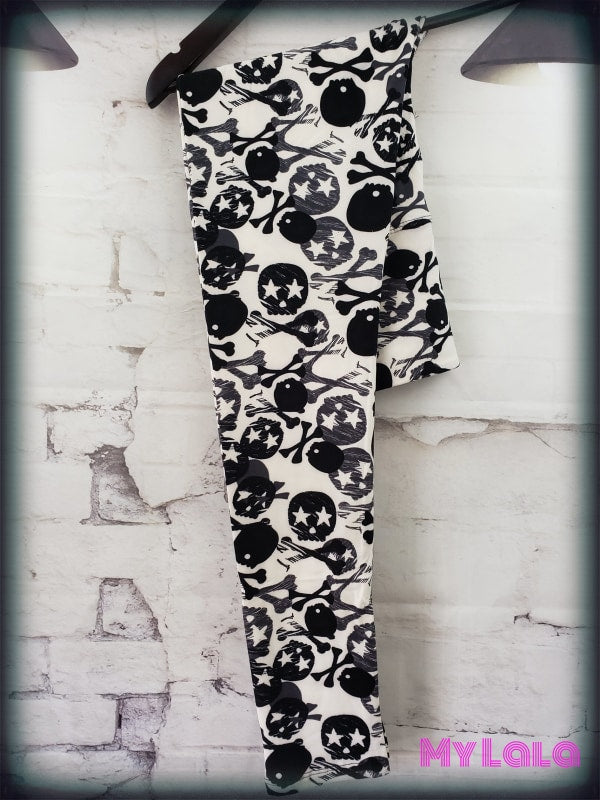 Yoga Band - Deadly Rock OS - My Lala Leggings, soft leggings, buttery soft leggings, one size leggings