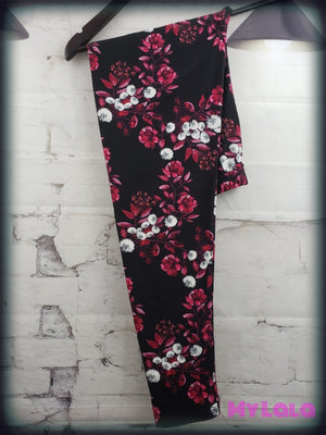 1 S669 Curvy Floral