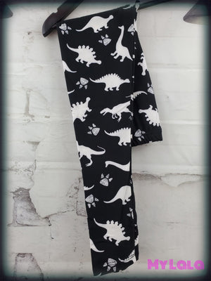 Dino Roar Kids - My Lala Leggings, soft leggings, buttery soft leggings, one size leggings