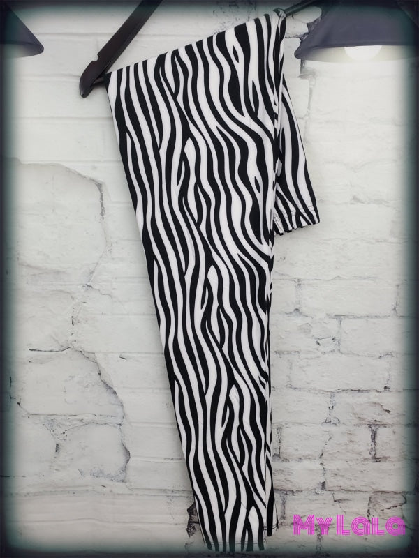 Extra Curvy Zebra (24-32) - My Lala Leggings, soft leggings, buttery soft leggings, one size leggings