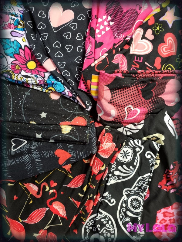 Valentines Day BULK Package (5 Items) - My Lala Leggings, soft leggings, buttery soft leggings, one size leggings