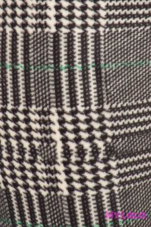 1 Velour - Houndstooth Os