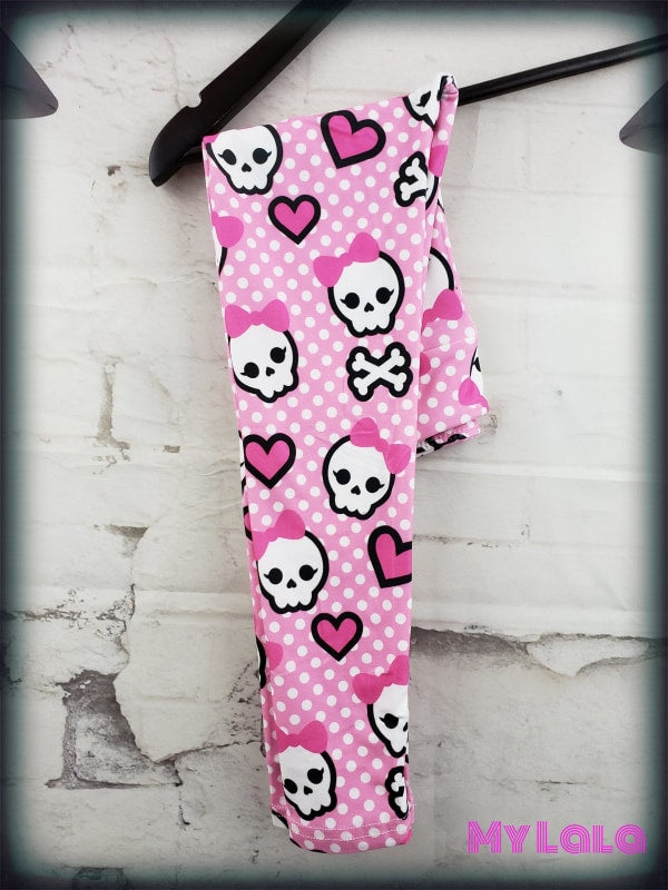 Yoga Band - Baby Skull Kids (Premium) - My Lala Leggings, soft leggings, buttery soft leggings, one size leggings