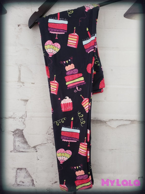Yoga Band - Birthday Cake Kids (Premium) - My Lala Leggings, soft leggings, buttery soft leggings, one size leggings