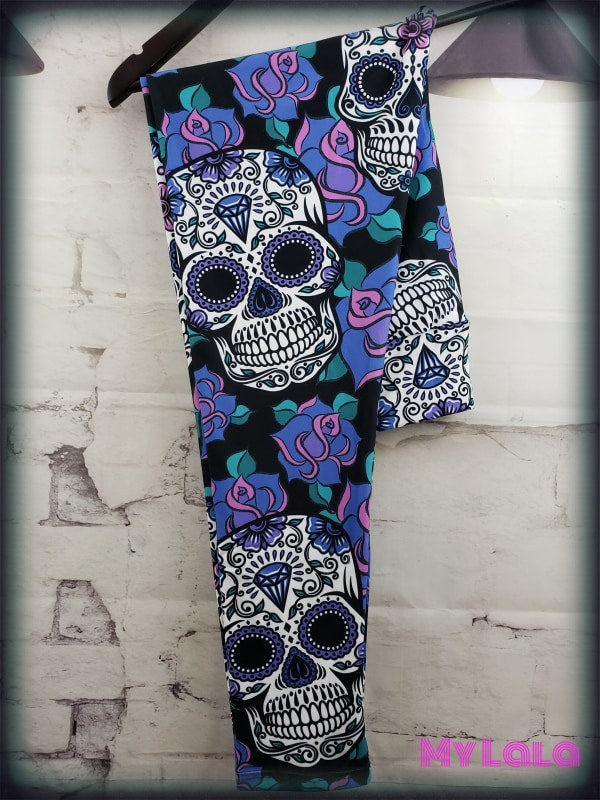 1 Yoga Band - Curvy Sugar Skull (Premium)