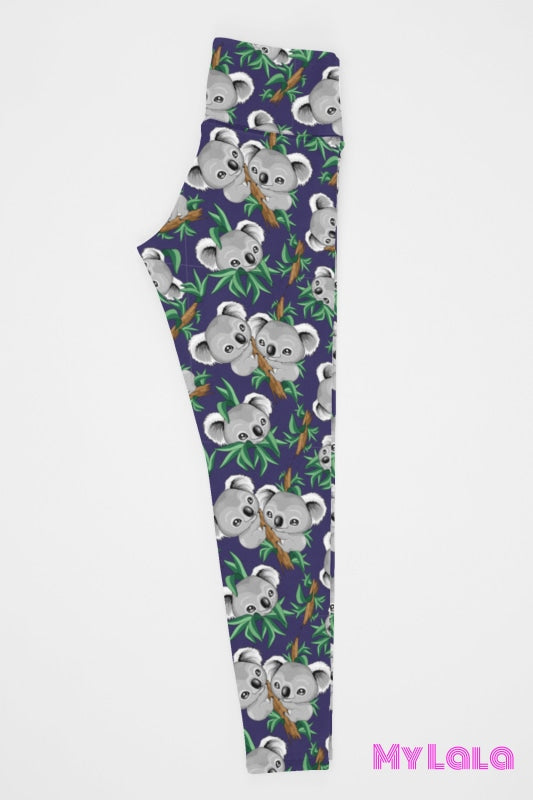 Yoga Band - Extra Curvy Koala Tree 20-26 (Premium) - My Lala Leggings, soft leggings, buttery soft leggings, one size leggings