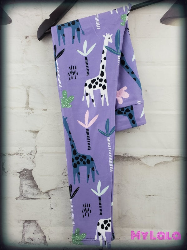 Yoga Band - Giraffe Kids (Premium) - My Lala Leggings, soft leggings, buttery soft leggings, one size leggings