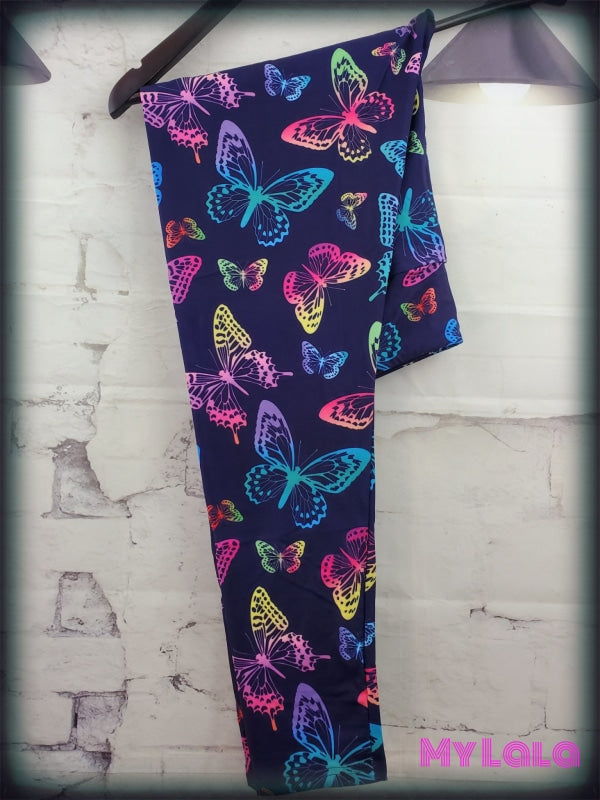 1 Yoga Band - Ombre Butterfly OS (Premium) - My Lala Leggings, soft leggings, buttery soft leggings, one size leggings