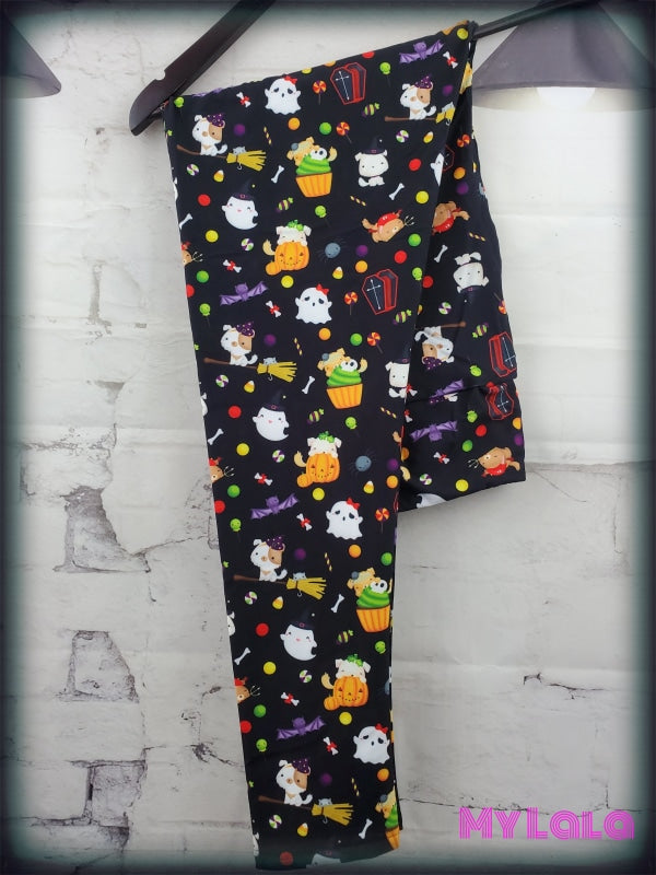 Yoga Band - Puppy Halloween OS (Premium) - My Lala Leggings, soft leggings, buttery soft leggings, one size leggings
