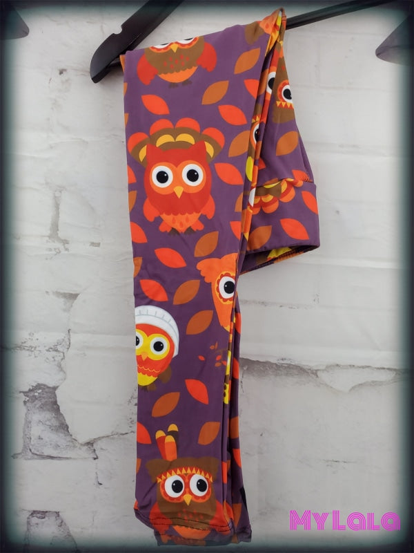 1 Yoga Band - Thanksgiving Owl Kids (Premium)
