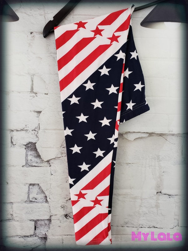 USA OS - My Lala Leggings, soft leggings, buttery soft leggings, one size leggings