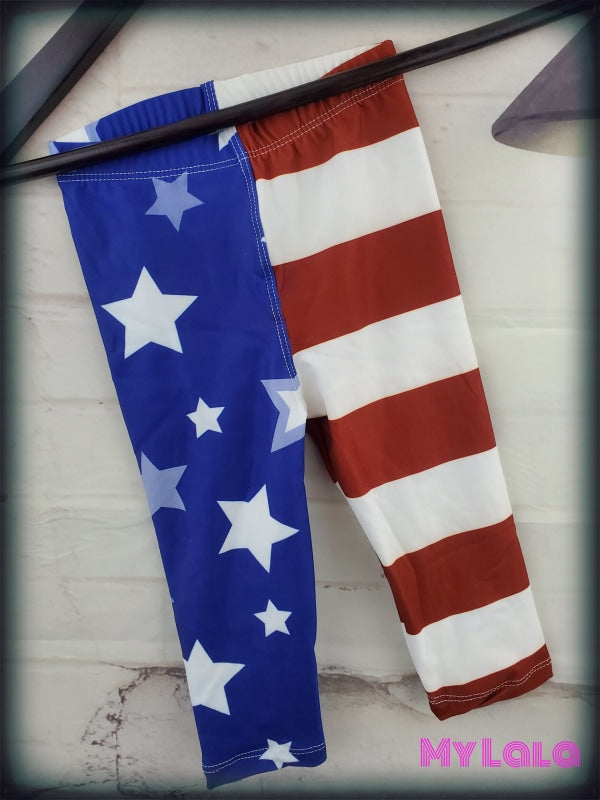 American Flag Baby (Premium) - My Lala Leggings
