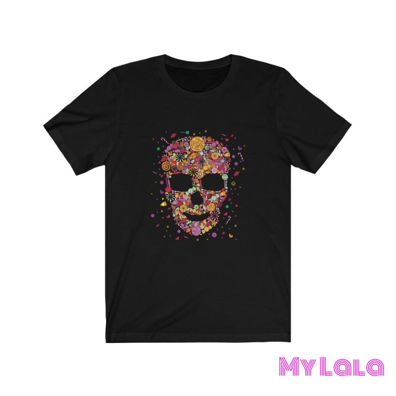 Candy Skull Graphic Tee - My Lala Leggings
