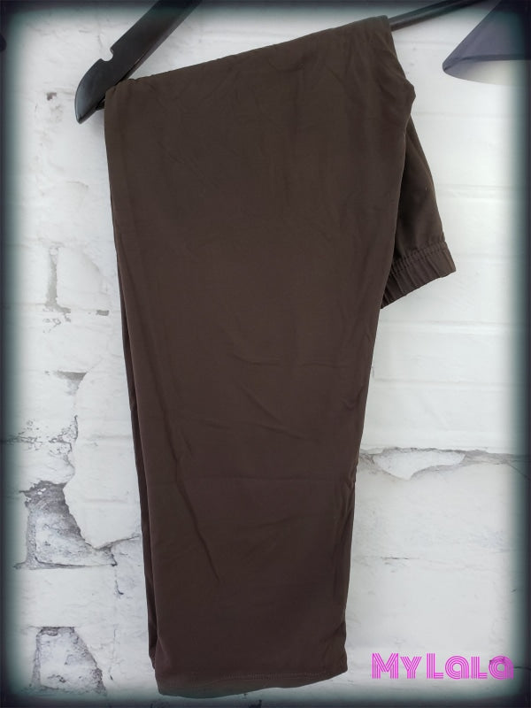 CAPRI- Brown OS - My Lala Leggings