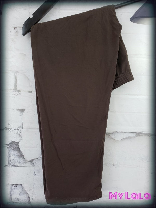 CAPRI- Curvy Brown - My Lala Leggings, soft leggings, buttery soft leggings, one size leggings