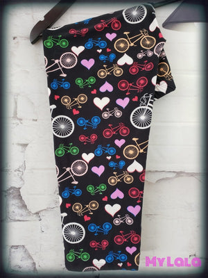 CAPRI- Curvy Colorful Ride - My Lala Leggings, soft leggings, buttery soft leggings, one size leggings