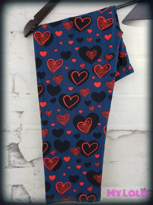 CAPRI- Love in the Dark OS - My Lala Leggings