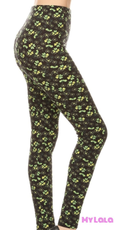 Clover OS - My Lala Leggings, soft leggings, buttery soft leggings, one size leggings
