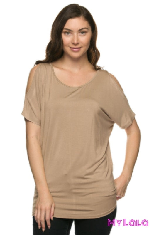 Cold Shoulder Dolman (Coco)