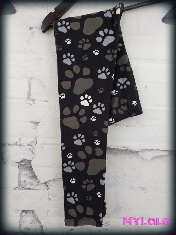 Concrete Paw Kids - My Lala Leggings, soft leggings, buttery soft leggings, one size leggings