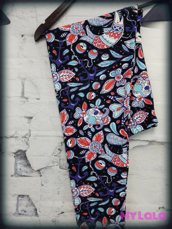 Curvy Aye Aye - My Lala Leggings, soft leggings, buttery soft leggings, one size leggings