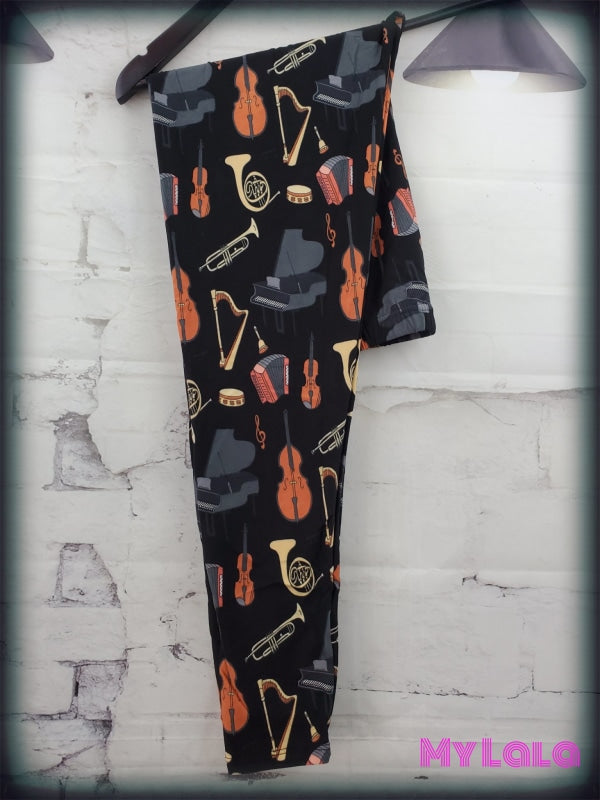 Curvy Band Class - My Lala Leggings, soft leggings, buttery soft leggings, one size leggings