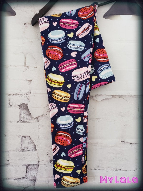 Curvy Macaroons - My Lala Leggings, soft leggings, buttery soft leggings, one size leggings