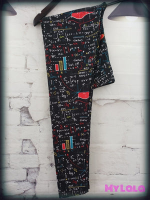 Curvy Mathematical - My Lala Leggings, soft leggings, buttery soft leggings, one size leggings