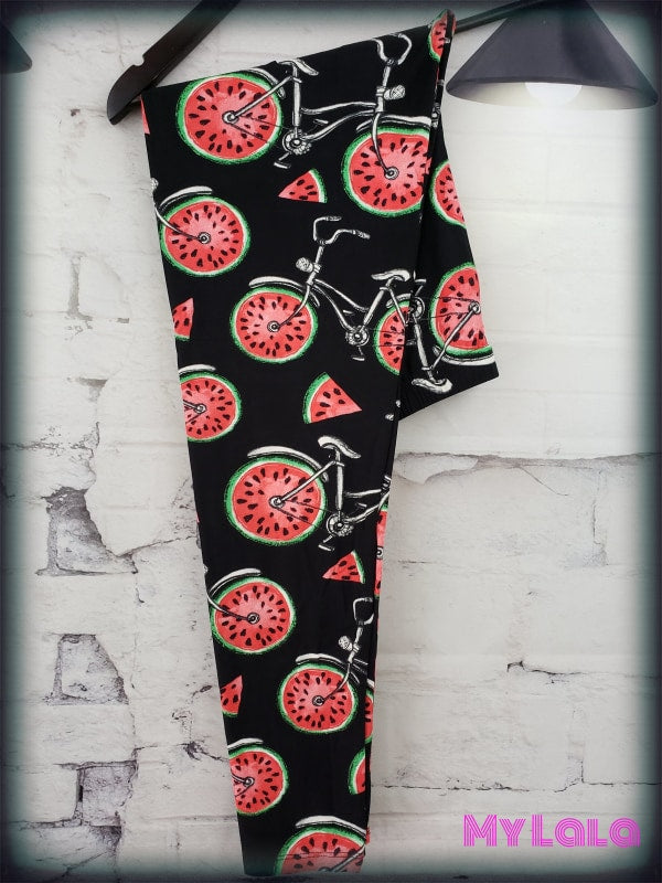 Curvy Melon Cruiser - My Lala Leggings, soft leggings, buttery soft leggings, one size leggings