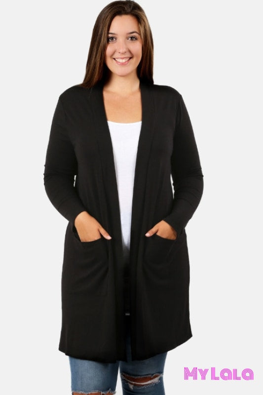 Curvy Open Winter (Black)