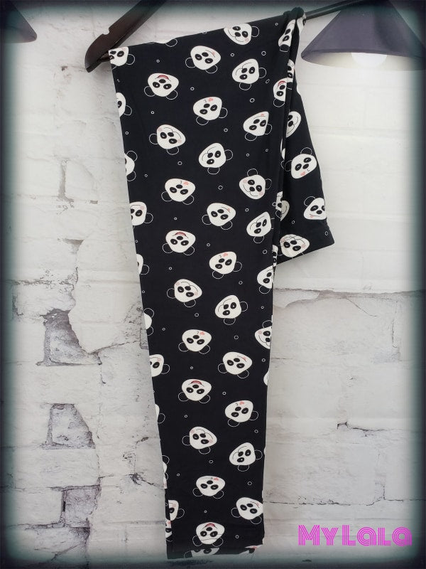 Curvy Pandamonium - My Lala Leggings, soft leggings, buttery soft leggings, one size leggings