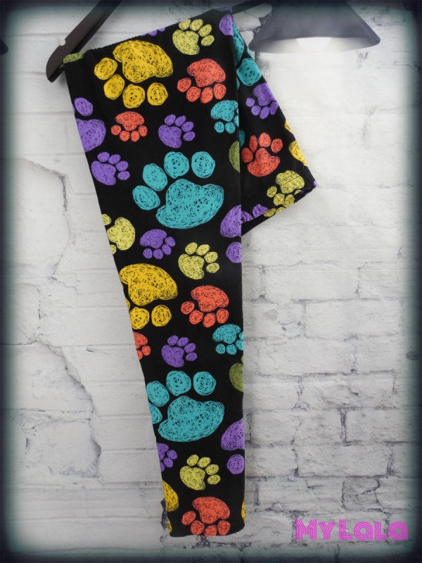 Curvy Pitter Patter - My Lala Leggings, soft leggings, buttery soft leggings, one size leggings
