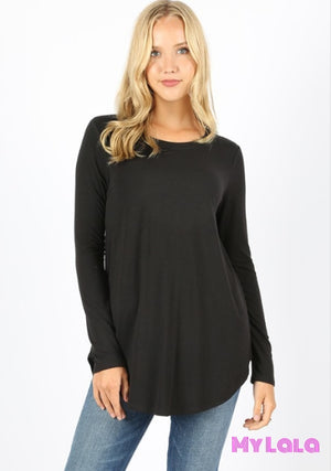 Curvy Rounded Samantha (Black)