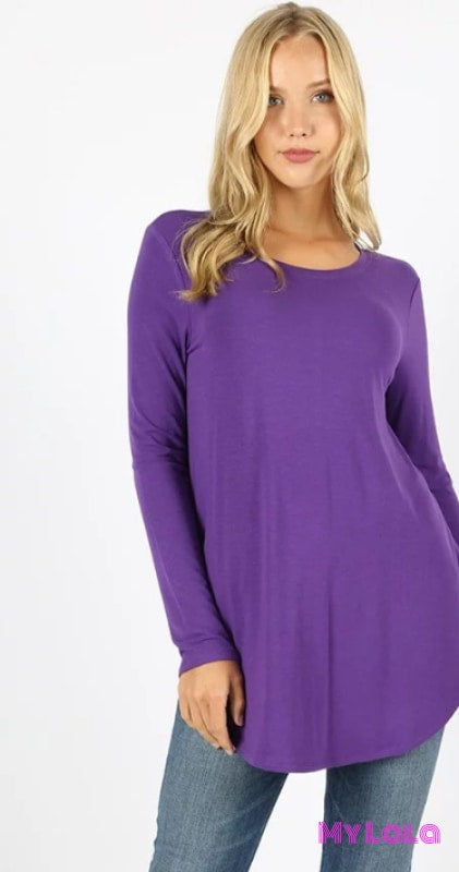 Curvy Rounded Samantha (Purple)