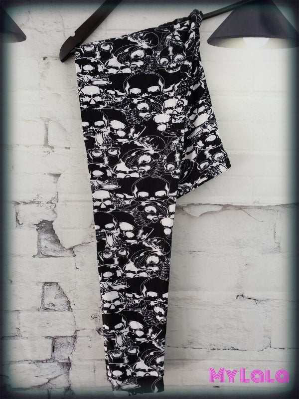 Curvy Shadow City - My Lala Leggings, soft leggings, buttery soft leggings, one size leggings