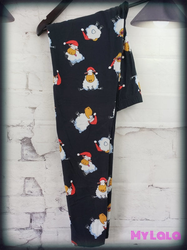 Curvy Silly Sheep - My Lala Leggings, soft leggings, buttery soft leggings, one size leggings