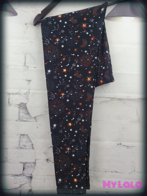 Curvy Sun Burst - My Lala Leggings, soft leggings, buttery soft leggings, one size leggings