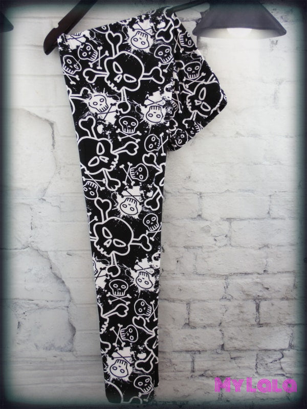 Curvy Toxic - My Lala Leggings, soft leggings, buttery soft leggings, one size leggings