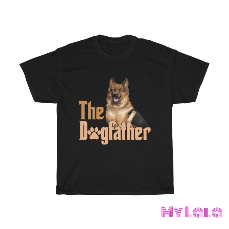 Dog Father Graphic Tee - My Lala Leggings, soft leggings, buttery soft leggings, one size leggings