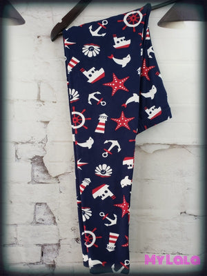 Dolphin Sight OS - My Lala Leggings, soft leggings, buttery soft leggings, one size leggings